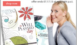 planner free shipping