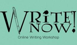 Write Now online writing workshop; injoyinc.com