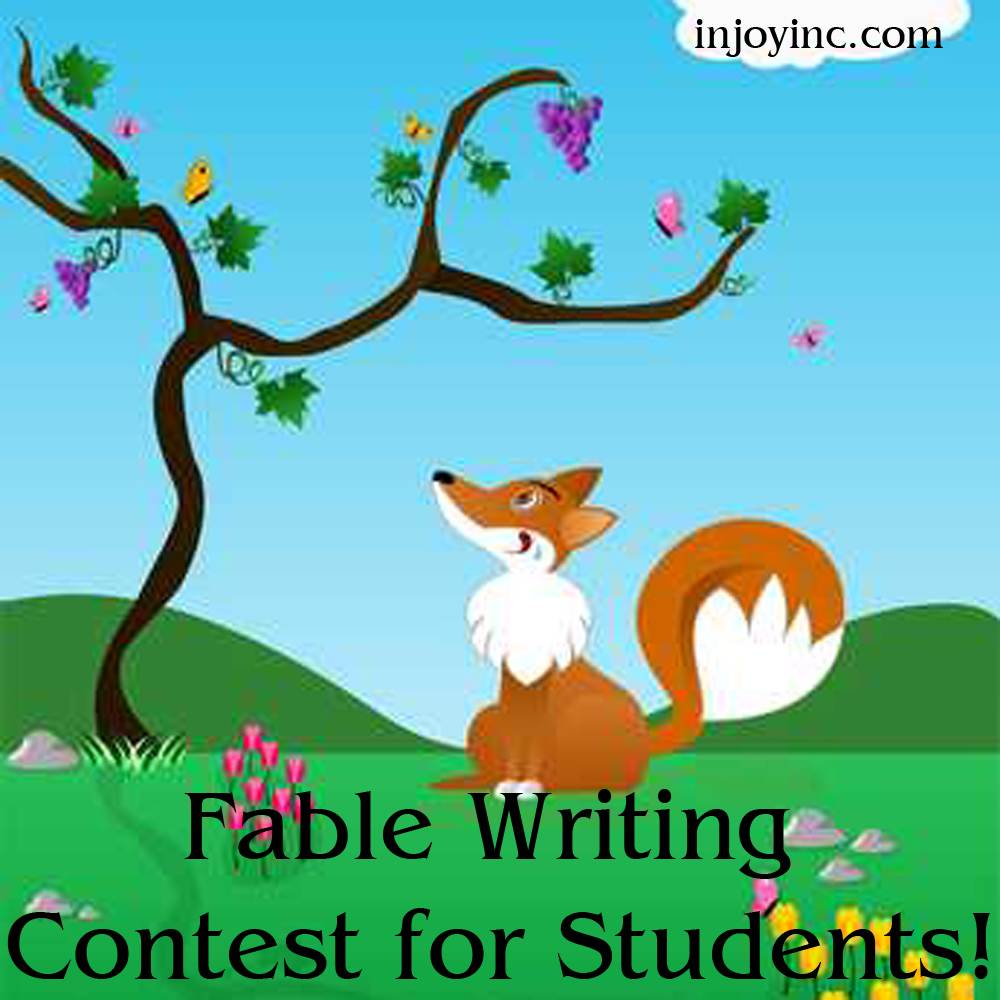 Fable Writing Contest for Students; injoyinc.com