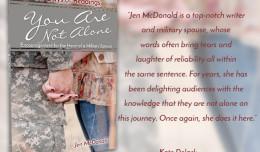 You Are Not Alone; Jen McDonald; Injoy, Inc.